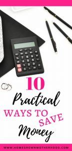 10 Practical Ways To Save Money At Home