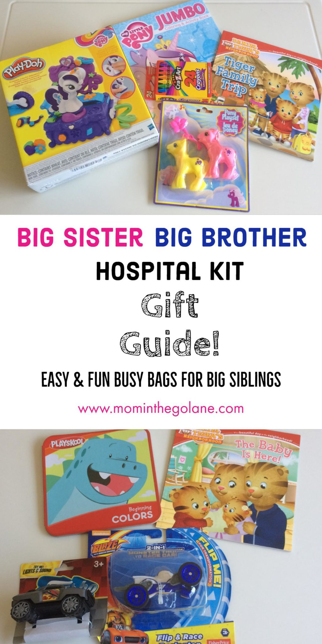 Big Sister/Big Brother Hospital Kit Gift Guide! - Mom In The GO Lane