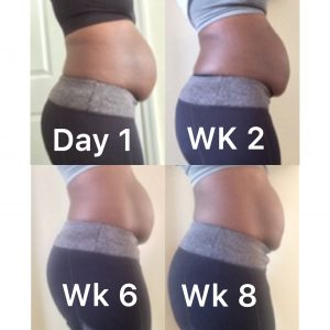 The Tummy Team Results Week 8