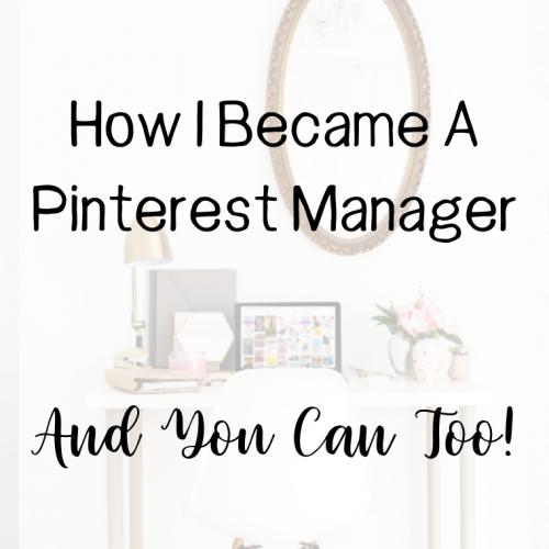 pinterest manager, pinterest management, work from home