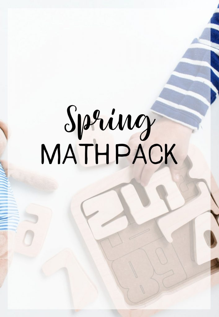 Spring Math Pack Featured Image
