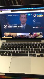 world watch laptop
